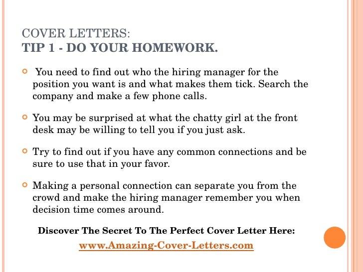 resume cover letters Slide 3