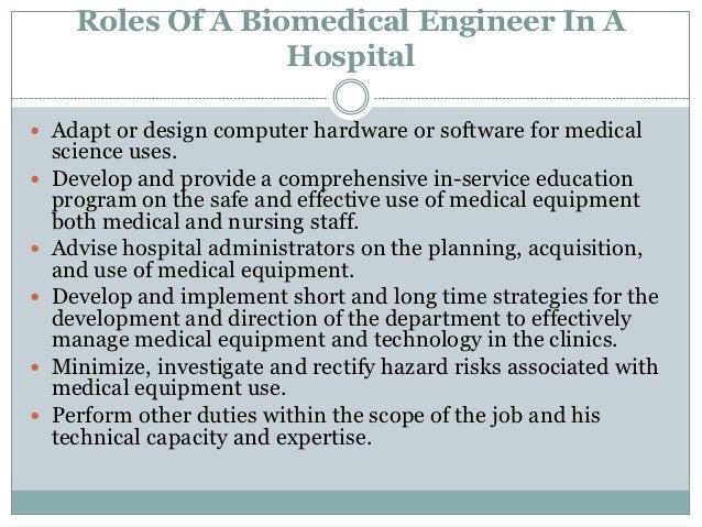 Biomedical Engineering Job Description   Lifeguard Duties For Resume Job Description Field Service Engineer
