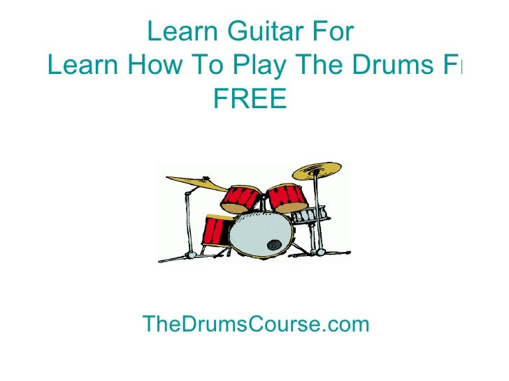 Progressive Complete Learn To Play Drums Manual – Section ...