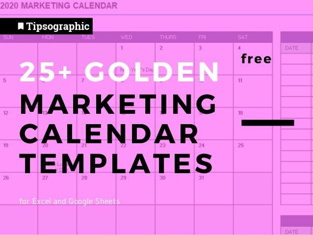 2022 Marketing Calendar.Tipsographic Com 25 Marketing Calendar Templates Free Excel Goog