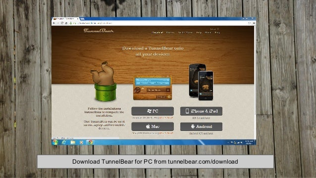 How to setup and use TunnelBear on a PC
