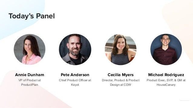 Hiring & Growing a Successful Product Team Webinar Slide 2