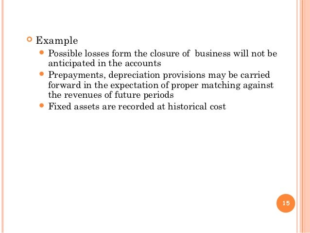 Accounting Concepts and Principles Essay Sample
