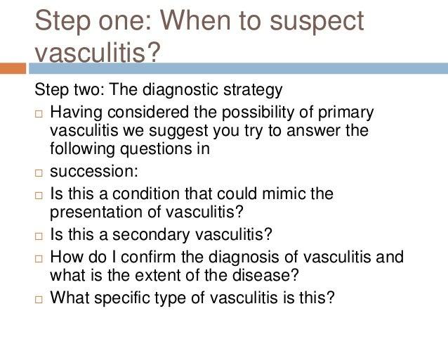 What is vasculitis?