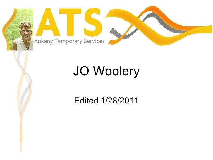 JO Woolery Edited 1/28/2011