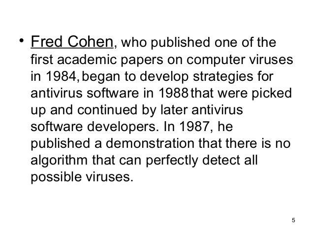 Essays on antivirus software