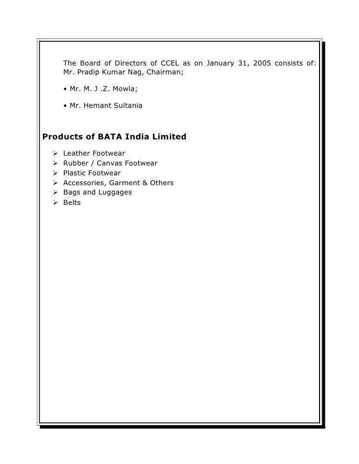 bata company analysis Safal niveshak stocktalk: bata india september 2, 2013 by vishal khandelwal  very good analysis of a very good company although it is quite expensive now.