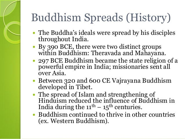 dbq essay on the spread of buddhism in china Buddhism was supported in china by some of its most elite citizens over time, the acceptance of buddhism in china declined and was rejected dbq buddhism in china.