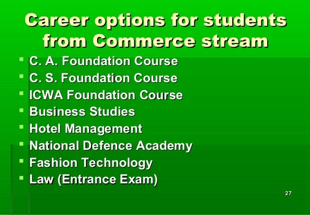 Best career options for science students