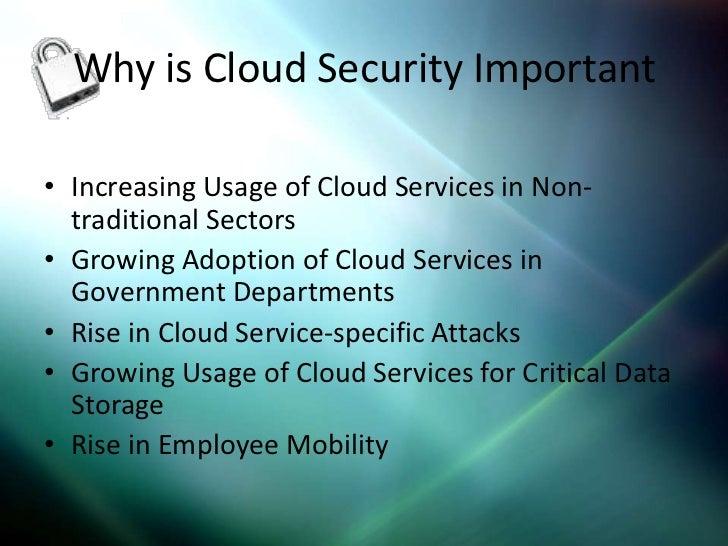 Cloud Security Ppt