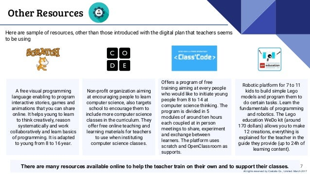 Code Education in France - Educational Environment and