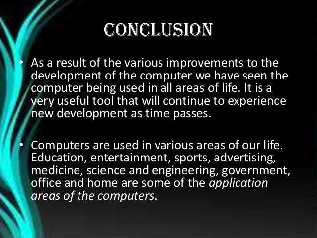 GENERATION OF COMPUTERS.