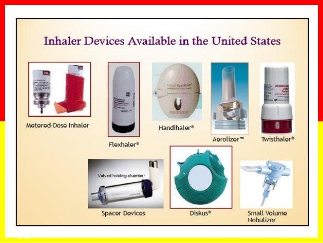 Asthma Inhaler techniques