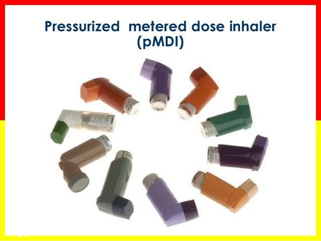 Metered dose inhaler sample