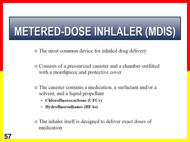 how to use seretide metered dose inhaler