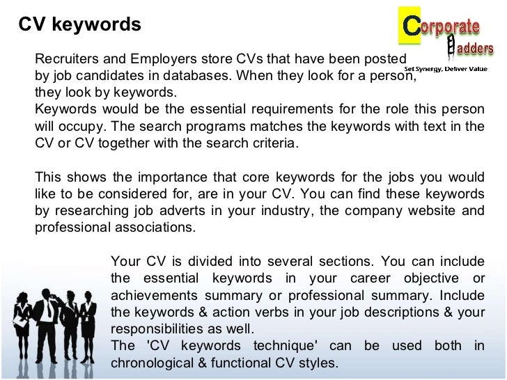 CV Keywords ...