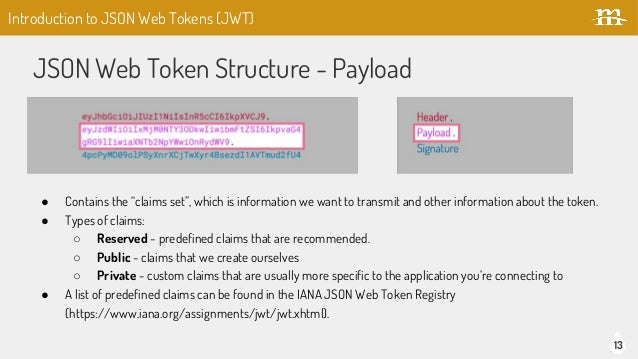 Using JSON Web Tokens for REST Authentication