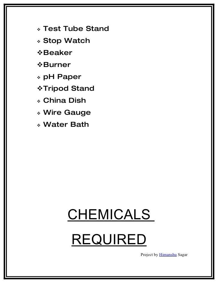 Determination of citric acid