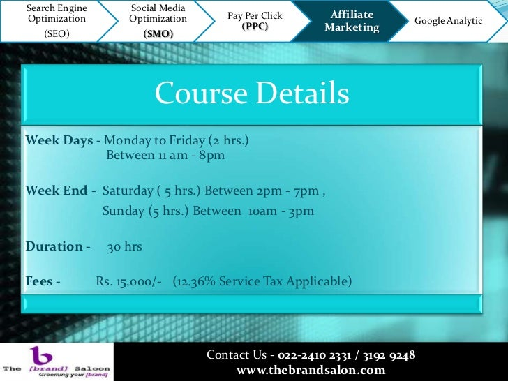 Digital Marketing Course With Placement In Mumbai