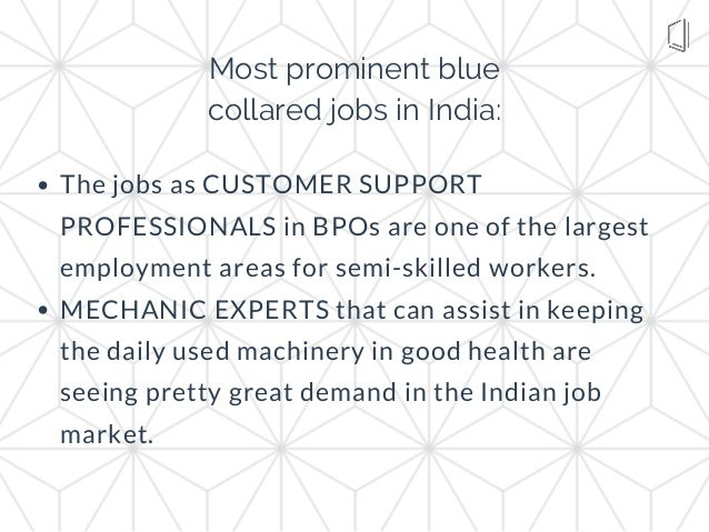 The jobs as CUSTOMER SUPPORT PROFESSIONALS in BPOs are one of the largest employment areas for semi-skilled workers. MECHA...