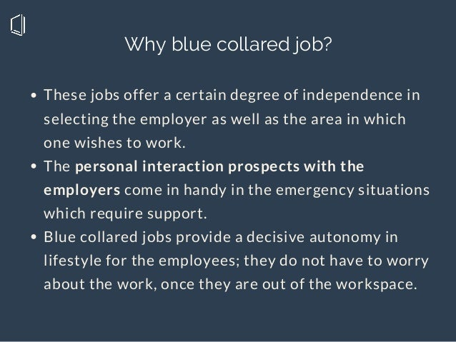 These jobs offer a certain degree of independence in selecting the employer as well as the area in which one wishes to wor...
