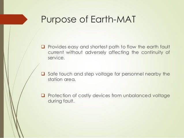 Earth Mat Design For Metro Station