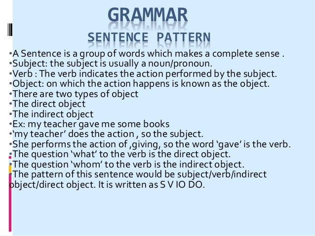 COMPLEMENT The words required to complete the meaning of a sentence is called complement. subject complement: more about t...