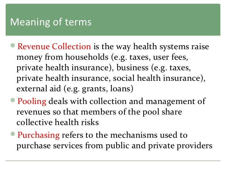health financing in india The report focuses on relooking at financing and funding, the regulatory framework along with reimbursement mechanisms to build a new.