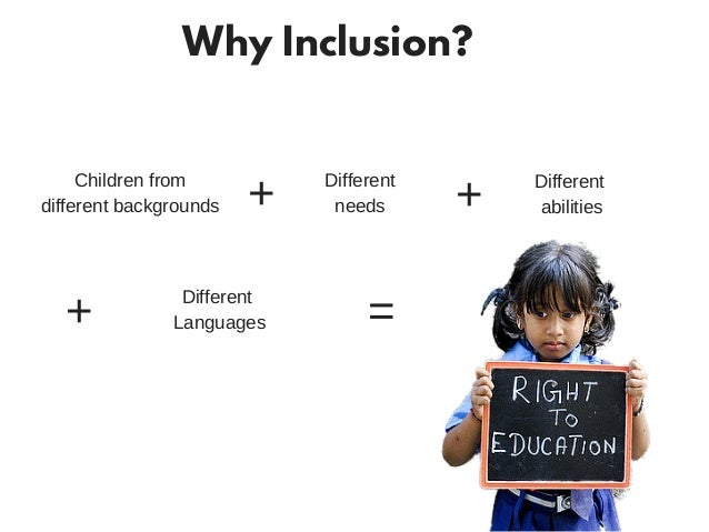 inclusive classrooms Inclusion description a generation ago, few classrooms in the united states included students with disabilities but special education changed with.