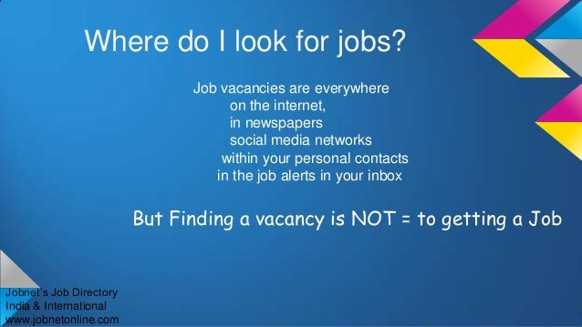 how to find a good job