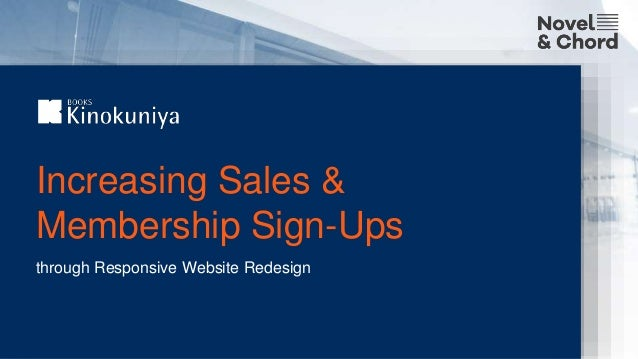 Increasing Sales & Membership Sign-Ups through Responsive Website Redesign