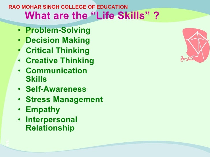 life skill Some life skills are more valuable than others here are three you probably never learned.