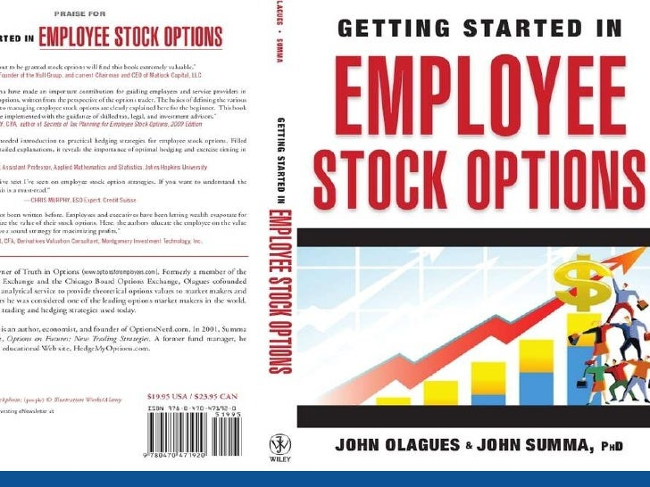 Employee stock options hedging strategies