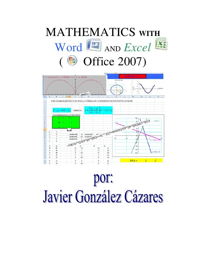 4743450482600MATHEMATICS WITH<br />5715002103120Word  AND Excel<br />2856865706755(   Office 2007)<br />137160023279101600...