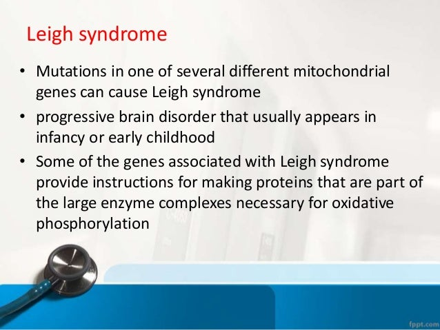 a look at diseases of the genetic origin This meeting explains the genetic inheritance patterns of mitochondrial disease look at understanding genetic diseases, so symptoms and family history.