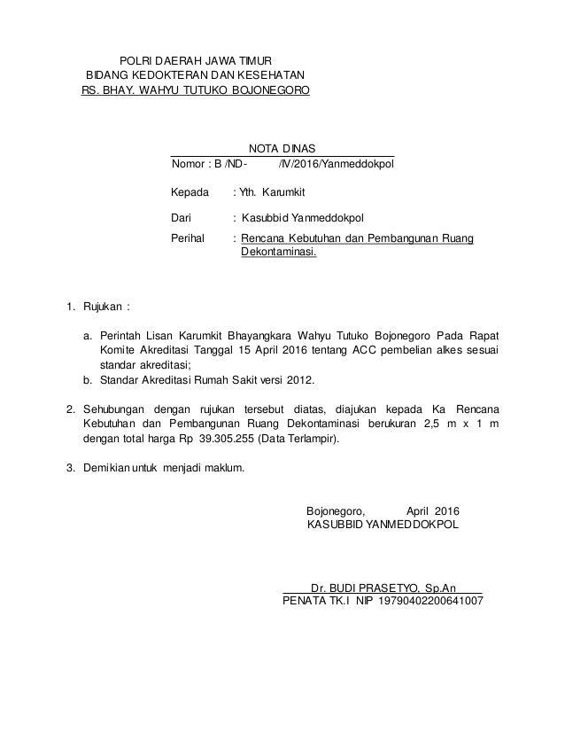 Copy Of Nota Dinas Dekon