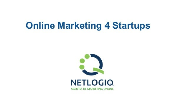 Online Marketing 4 Startups