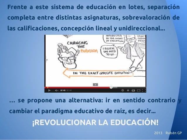 Sir Ken Robinson Invita A Revolucionar El Aprendizaje Abv
