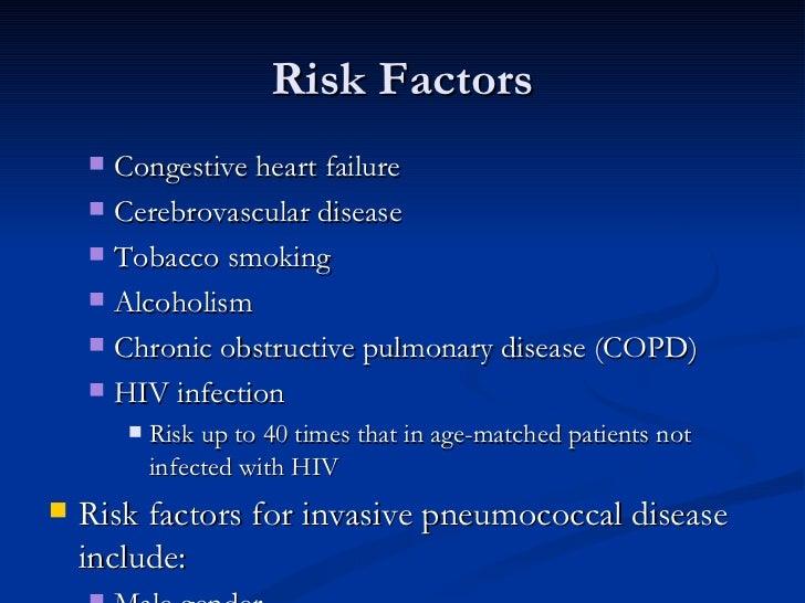 Risk Factors <ul><ul><li>Congestive heart failure  </li></ul></ul><ul><ul><li>Cerebrovascular disease  </li></ul></ul><ul>...