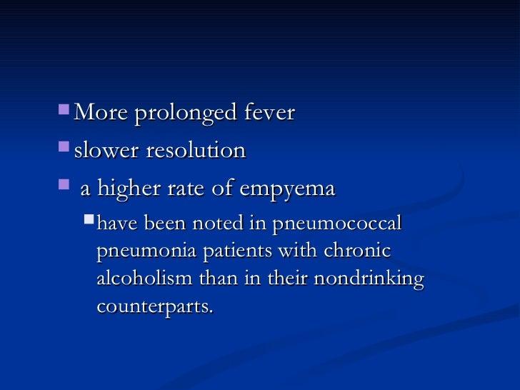 <ul><ul><li>More prolonged fever </li></ul></ul><ul><ul><li>slower resolution </li></ul></ul><ul><ul><li>a higher rate of ...