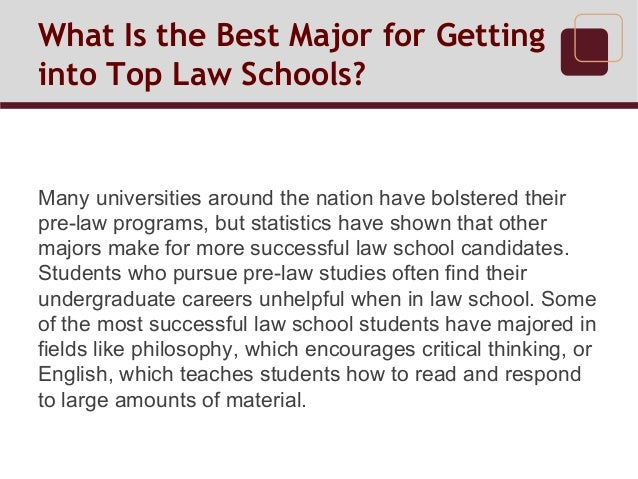 Best Majors For Law School >> What Is The Best Major For Getting Into Top Law Schools