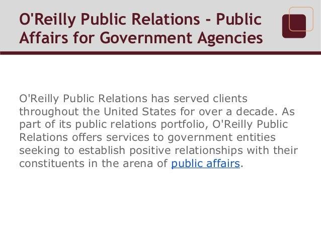 o reilly public relations