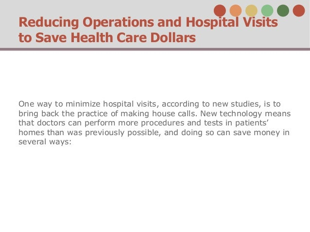 Health Policy Emergency Room Visits