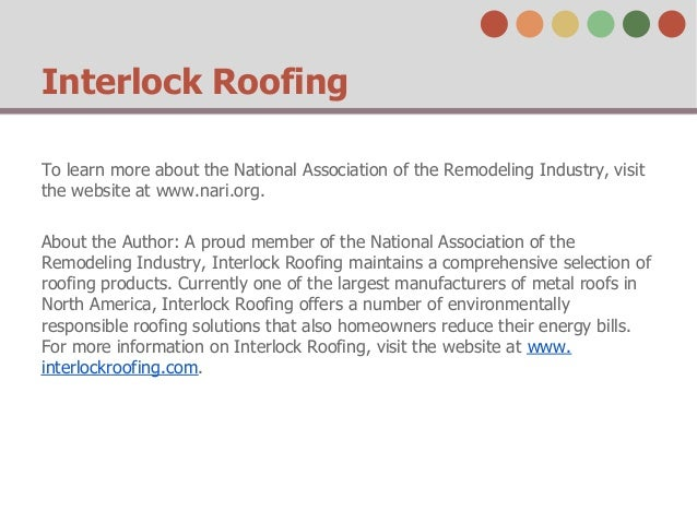 Membership Benefits Of The National Association Of The Remodeling Ind