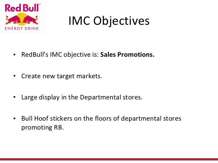 redbull sales - norbert kraihamer, red bull's group marketing and sales director recommended overview of redbull marketing strategy and communication mix kushal shah.