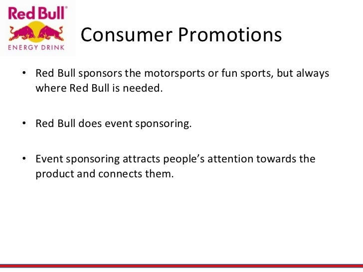 red bull consumer profile Red bull is a privately-owned company founded by dietrich mateschitz in the mid 80's he created the red bull formula & launched it in austria in 1987.
