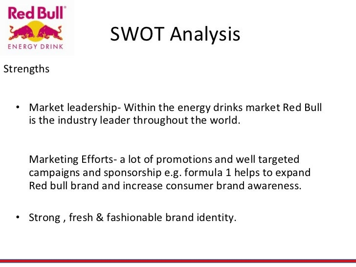 sting energy drink swot analysis