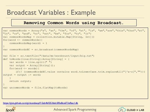 Advanced Spark Programming - Part 2 | Big Data Hadoop Spark Tutorial …