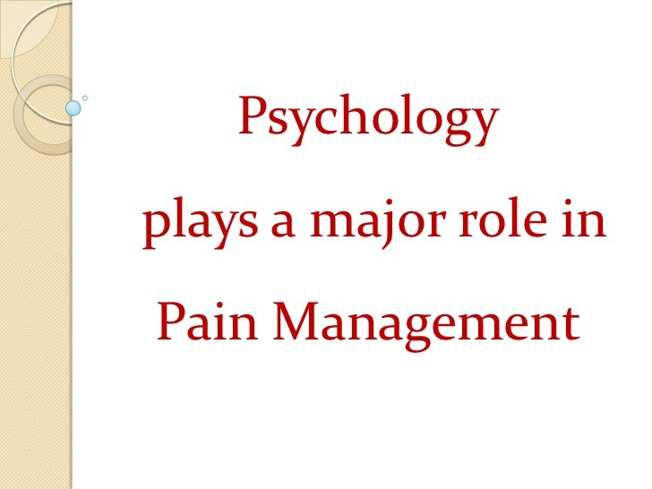 psychology of pain childbirth essay Preparation for pain management during childbirth: the psychological aspects of coping strategy development in antenatal education the psychology of pain.
