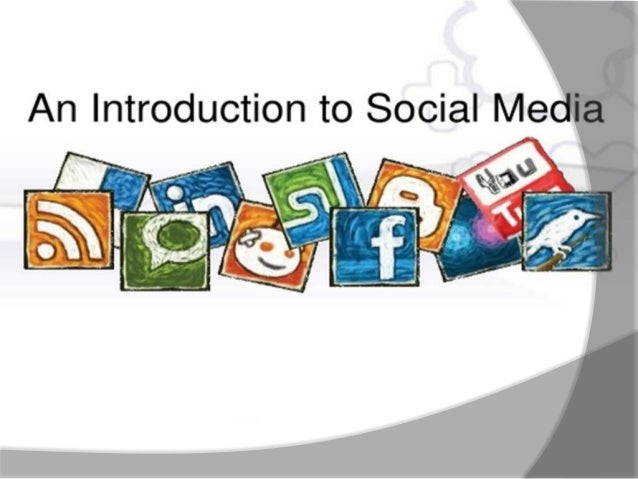 Social media is the best understood asa group of new kinds of inline media,which share most or all the followingcharacteri...